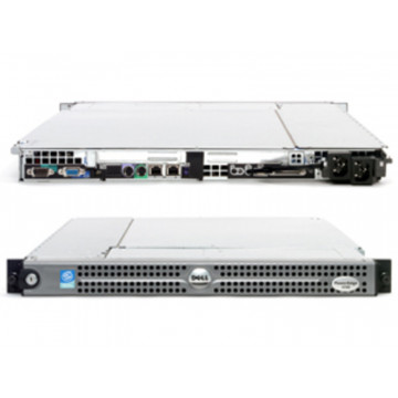 Server Dell PowerEdge 1750, 2x Intel Xeon 3.2Ghz, 4Gb, 2 x 73Gb, PERC 4/DI, 128MB Servere second hand