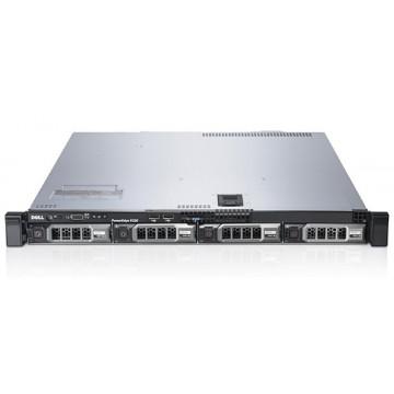 Server DELL PowerEdge R320, Intel Xeon OCTA-Core E5-2470 2.3 GHz-3.1 GHz,  32GB DDR3 ECC 1333MHz, 4x 300GB SAS SFF 2.5 inch, PERC H710 512MB, DVD-ROM, 1 PSU  Servere second hand