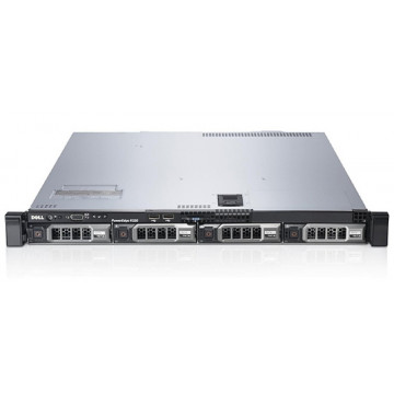 Server DELL PowerEdge R320, Intel Xeon OCTA-Core E5-2470 2.3 GHz-3.1 GHz,  8GB DDR3 ECC 1333MHz, 2x 146GB SAS SFF 2.5 inch, PERC H710 512MB, DVD-ROM, 1 PSU  Servere second hand