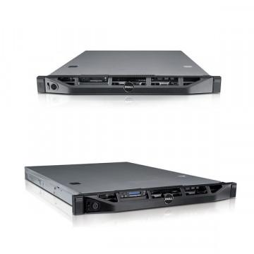 Server Dell PowerEdge R410 V2, 2x Intel Xeon Quad Core L5520 2.26GHz - 2.48GHz, 8Gb DDR3 ECC, 2x 73Gb SAS, Controler Perc6i/256 MB, DVD-ROM Servere second hand