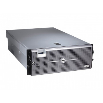 Server DELL PowerEdge R905, AMD Opteron 8382 2.6Ghz, 64Gb DDR2 ECC, 2x 2Tb SAS, DVD-RW, Raid Perc 6iR, 2x Surse 1100W HS Servere second hand