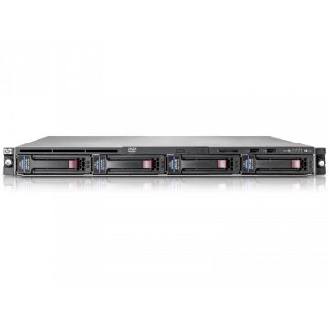 Server Hp ProLiant DL160 G6, 2x Intel Xeon E5620 Quad Core, 2.4Ghz, 16GB DDR3 ECC, 2 x 1TB SATA, OnBoard B110i SATA RAID, 1 x PSU, Second Hand Servere second hand