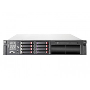 Server HP ProLiant DL380 G6, 2x Intel Xeon Quad Core E5520 2.26Ghz, 96Gb DDR3 ECC, 4x 450Gb SAS, 2 x 120GB SSD SATA, DVD-ROM, RAID P410i Servere second hand