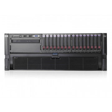 Server HP Proliant DL580 G5, 4x Xeon Quad Core X7350, 2.93Ghz, 32Gb DDR2 FBD, 2x 500Gb SATA, Raid Servere second hand