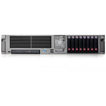 Servere Stocare Date HP Proliant DL380 G5, 2x Xeon Dual Core 5150 2.66Ghz, 8Gb DDR2 FBD, 1x 73Gb SAS, DVD-RW, RAID P400 Servere second hand