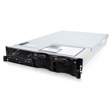 Servere Stocare IBM X3650 M1, 2x Xeon Quad Core E5430 2.66Ghz, 8Gb DDR2 FBD 2x 73Gb SAS Servere second hand