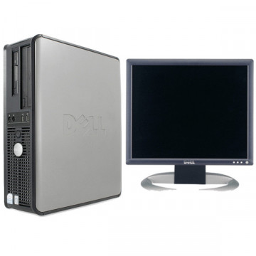 Sistem Dell Optiplex 745 Intel Pentium E2160, 1.8ghz, 1gb, 40gb + Monitor Dell 1740 280 x 1024, 75 Hz