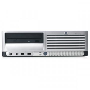 Sistem Desktop HP DC 7700P, Core 2 Duo E7200, 2.53Ghz, 2Gb DDR2, 80Gb HDD, DVD-ROM Calculatoare Second Hand