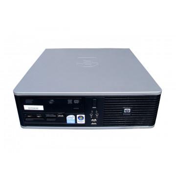 Sistem desktop HP DC5800 SFF, Pentium Dual Core E5200, 2.5Ghz, 80Gb, 2048Mb,  DVD-RW Calculatoare Second Hand
