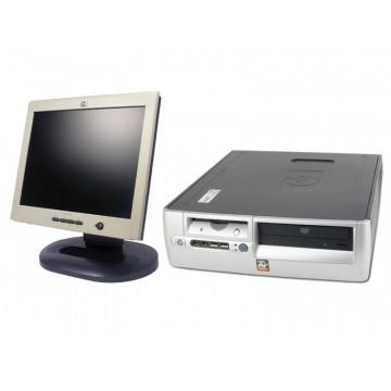 Sistem Desktop HP DX5150, 1.8Ghz, 512Mb, 40Gb + Monitor LCD HP L1520 15 inci