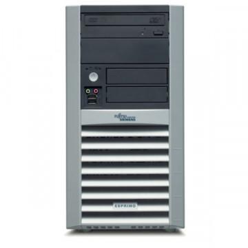 Sistem Fujitsu Esprimo P5615, AMD Sempron 3200+, 1Gb, 80Gb, DVD-ROM Calculatoare Second Hand