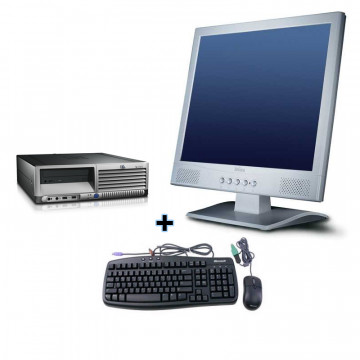 Sistem HP DC7600 Intel Pentium 4, 2.8Ghz + Monitor 17 LCD