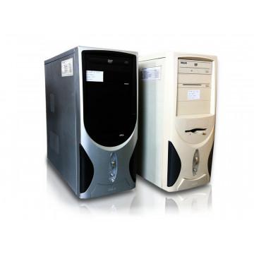Sistem Tower Pentium Dual Core E2140, 1.6Ghz, 1Gb DDR2, 2x 40Gb SATA, DVD-ROM Calculatoare Second Hand