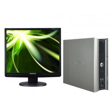 Sisteme Dell OptiPLex SX745, Celeron D, 3.06, 1Gb, 40Gb, Combo + LCD 19 inci