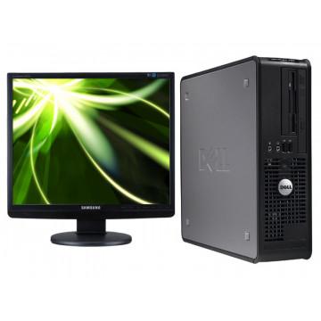 Sisteme Desktop Dell 745, Pentium Dual Core 3.4Ghz, 1Gb, 40Gb, CD-ROM + Monitor LCD 19 inci
