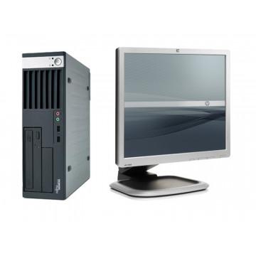 Sisteme Desktop Fujitsu E5720, Core 2 Duo E4600, 2.4Ghz, 2Gb, 80Gb + Monitoare SH 19 inci
