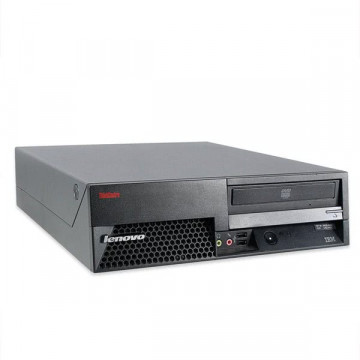 Sisteme Desktop Lenovo ThinkCentre M55, Dual Core E2160, 1.86Ghz, 2Gb, 80Gb, DVD-ROM Calculatoare Second Hand