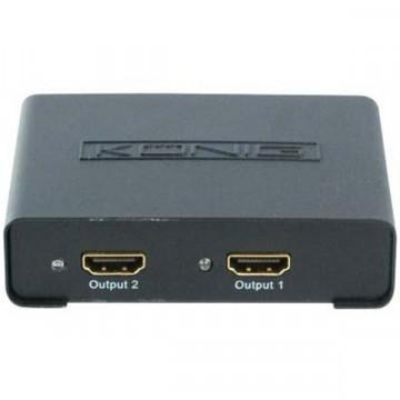 Spliter HDMI Konig KN-HDMISPL10, 1 intrare, 2 iesiri, full hd Retelistica