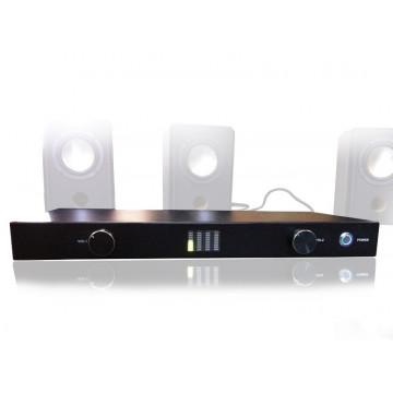 Statie amplificare audio, 4 iesiri x 10W, 2 intrari
