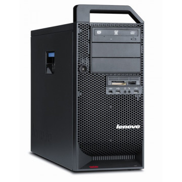Statie de lucru Lenovo ThinkStation D20, Intel Xeon Quad Core E5640 2.66Ghz, 16Gb DDR3, 500Gb HDD, DVD-RW Calculatoare Second Hand
