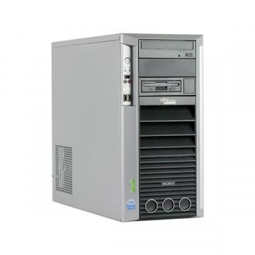 Statie Grafica Fujitsu Celsius M450, Intel Core 2 Duo E6600, 2.4Ghz, 4Gb DDR2 ECC, 160Gb SATA, DVD-ROM Calculatoare Second Hand