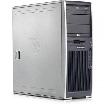 Statie grafica HP XW4300, Pentium 4, 3400, 1Gb DDR2, 2x 40Gb HDD, DVD-ROM, Nvidia Quadro FX1300 Calculatoare Second Hand