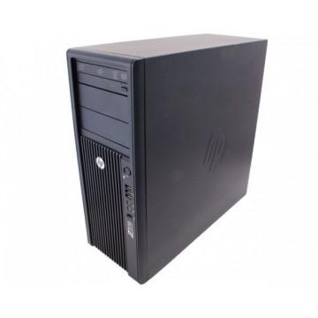 Statie Grafica HP Z210, Intel Xeon E3-1240, 3.3 Ghz, 8Gb DDR3, 250Gb HDD, DVD-ROM Workstation