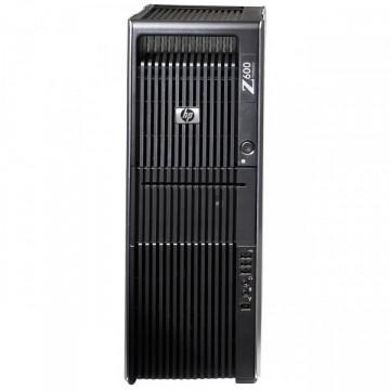 Statie Grafica HP Z600, 2x Intel Xeon Six Core E5645 2.40Ghz 12Mb Cache, 32Gb DDR3 ECC, 1TB HDD + 120GB SSD, DVD-ROM, NVIDIA QUADRO 600 1GB 128bit Calculatoare Second Hand