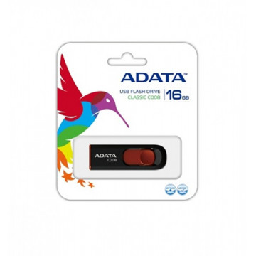 Stick memorie ADATA Classic C008 16GB, Retractabil, Negru Periferice