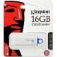 Stick memorie Kingston DataTraveler l Gen 4 16GB Alb-Albastru Periferice