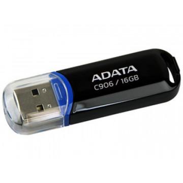 Stick memorie USB 2.0 ADATA C906, 16GB, Negru