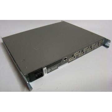 SUN Qlogic Sanbox 8, 8 porturi fibra Gbic, Management RJ-45, Rackabil Retelistica