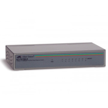 Switch Allied Telesis AT-FS708LE, 8 porturi Retelistica