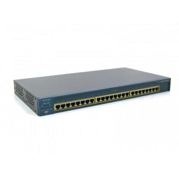 Switch Cisco Catalyst C2950, 24 porturi Rj-45, 10/100 Mbps Retelistica