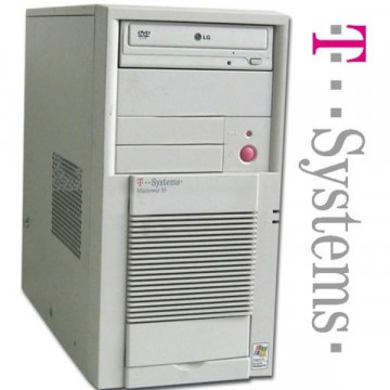 T-Systems Tower Pentium 4, 2.8Ghz, 512Mb RAM, 40Gb HDD, DVD Calculatoare Second Hand