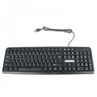 Tastatura 4World, 104 taste, USB, Neagra