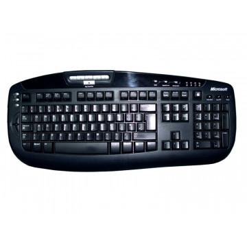 Tastatura Multimedia Microsoft 1031, USB, Negu