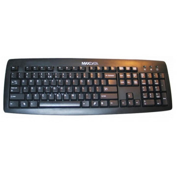 Tastatura PS2 Maxdata KB-0556, Negru, Qwerty