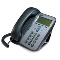 Telefon VoIP Cisco CP-7905G, Display, Apelare rapida, Agenda, seond hand, fara alimentator