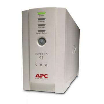 UPS APC Back-Ups 500, 300W, 500VA, 230V Output, Cu baterie noua! Servere second hand