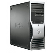 Workstation DELL Precision 390, Intel Core 2 Duo E6300 1.86GHz, 2GB DDR2, 160GB SATA, ATI FIRE GL V3400 128 MB  Workstation