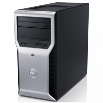 Workstation Dell Precision T1600, Intel Xeon Quad Core E3-1225 3.10GHz - 3.40GHz, 8GB DDR3, 500GB HDD, nVidia GT 605 1GB, DVD-RW, Second Hand Calculatoare Second Hand