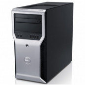Workstation Dell Precision T1600, Intel Xeon Quad Core E3-1225 3.10GHz, 8GB DDR3, 240GB SSD, DVD-ROM, Second Hand Workstation