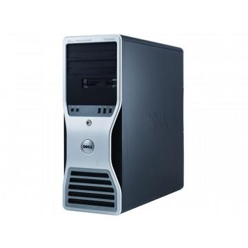 Workstation Dell T5500, 1 x Intel Xeon E5645 Six Core 2.4Ghz, 12Mb cache, 12GB DDR3, 500GB, Video Quadro4000 2GB GDDR5 , DVD-RW Calculatoare Second Hand