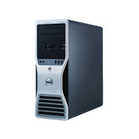 Workstation Dell T5500, Intel Xeon Hexa Core E5645 2.40GHz-2.67GHz, 8GB DDR3, 500GB SATA, AMD Radeon HD 7350 1GB GDDR3