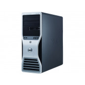 Workstation Dell T5500, Intel Xeon Quad Core E5630 2.53GHz-2.80GHz, 8GB DDR3, 500GB SATA, AMD Radeon HD 7350 1GB GDDR3, Second Hand Workstation