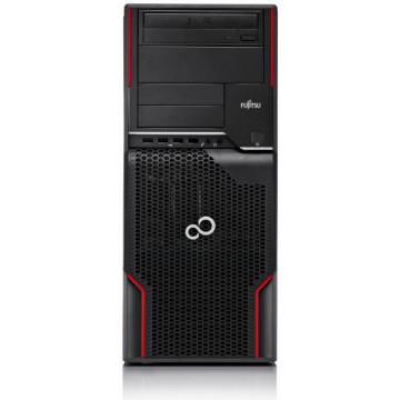 Workstation FUJITSU CELSIUS W510, Intel Xeon E3-1225 3.1GHz - 3.4GHz, Placa Video NVIDIA Quadro FX580, 512MB, 128-bit GDDR3, 16GB DDR3, 1 x 240GB SSD NOU, DVD-ROM Workstation