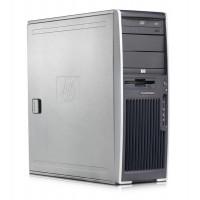 Workstation HP XW6200, 2 x XEON 3.2 GHz, 2GB DDR2 ECC, 40GB SATA, DVD-ROM, Nvidia GeForce 9300GE