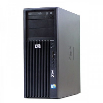 Workstation HP Z200 Tower, Intel Core i5-660 3.33GHz - 3.60GHz, 4GB DDR3, HDD 250GB, nVidia Quadro FX380/256MB, DVD-RW, Second Hand Calculatoare Second Hand