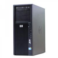 Workstation HP Z200 Tower, Intel Xeon Quad Core X3450 2.66GHz - 3.20GHz, 16GB DDR3, HDD 2TB, nVidia Quadro 2000/1GB, DVD-RW